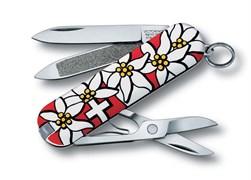 Нож-брелок Classic Edelweiss Victorinox 0.6203.840