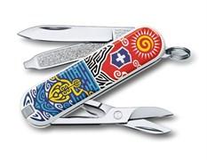 Нож-брелок Classic New Zealand Victorinox 0.6223.L1806