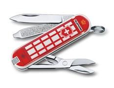 Нож-брелок Classic A Trip to London Викторинокс (Victorinox) 0.6223.L1808