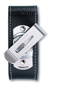 Кожаный чехол на ремень для ножа 91 мм (толщиной 2-4 уровня) с поворотной клипсой Victorinox 4.0520.