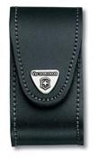 Кожаный чехол на ремень для ножа 91 мм (толщиной 5-8 уровней) с поворотной клипсой Victorinox 4.0521