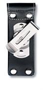 Кожаный чехол на ремень для ножа 111 мм (толщиной до 6 уровней) с поворотной клипсой Викторинокс (Victorinox) 4.05
