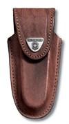 Кожаный чехол на ремень для ножа 111 мм (толщиной 2-3 уровня) Викторинокс (Victorinox) 4.0537
