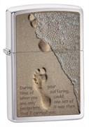 Зажигалка Footprint Зиппо (Zippo) 28180