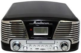 Проигрыватель Playbox Montreux PB-106D-BK