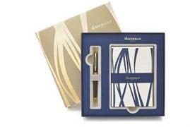 Набор: ручка шариковая Hemisphere Black + набор открыток и конвертов Waterman 1937583