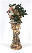 Напольный фонтан Орёл камень