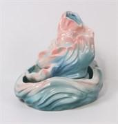 Настольный фонтан Синрей цвет: розово-голубой