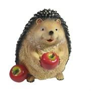 Фигура декоративная Ежик с яблочками L=14 W=14,5 H=15