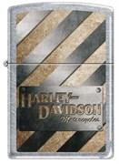 Зажигалка Harley-Davidson® Zippo 207HD METALL STRIPED