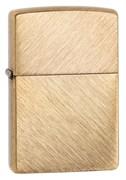 Зажигалка Зиппо (Zippo) Classic с покрытием Herringbone Sweep Brass, 29830