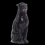 Статуэтка ростовая Черная пантера CB-351-N