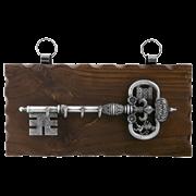 Ключница настенная, хром. KL-840