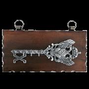 Ключница настенная, хром. KL-841