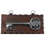 Ключница настенная, хром. KL-842