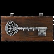 Ключница настенная, хром. KL-843