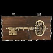 Ключница настенная, зол. KL-840-B