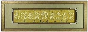 Картина по фен-шуй Девять золотых драконов XMS-377