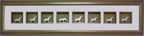 Картина по фен-шуй Фигурки лошадей XMS-2221