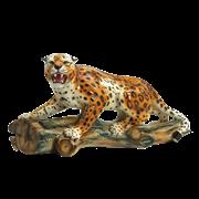 Статуэтка ростовая Леопард крадущийся CB-363-M