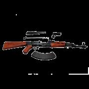Комплект сборный модели автомата Советской Армии, 1947г. DE-1086