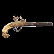 Пистоль тульских оружейников 18 века DE-1238
