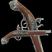 Пистоль ударный 18 века DE-1077-G