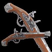 Пистоль английский 18 века DE-1219-G