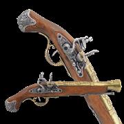Пистоль английский 18 века DE-1219-L