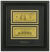 Картина с банкнотами (США) HB-090