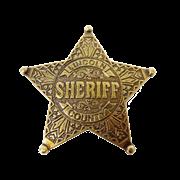Значок шерифа DE-104