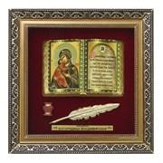 Православное панно Владимирская Богородица бол. багет ПР-01-Б