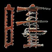 Стенд настенный для ружей DE-9990