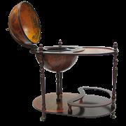 Глобус-бар напольный со столиком d 42 JF-JG-42004-R
