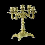 Канделябр Венеция на 5 свечей малый AL-80-411