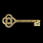 Ключница металлическая Золотой ключик AL-80-305