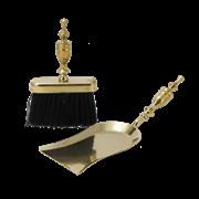 Набор для камина: совок большой + щетка плоская AL-80-347-N
