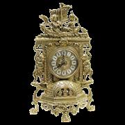 Часы Ангелы каминные фасадные AL-82-101
