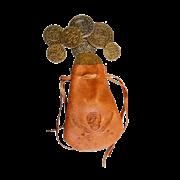 Мешочек с монетами DE-715