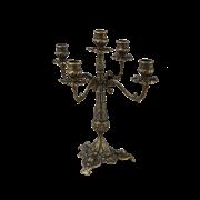 Канделябр на 5 свечей из латуни AL-80-328-ANT