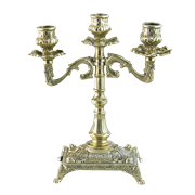 Канделябр Венеция на 3 свечи AL-80-410