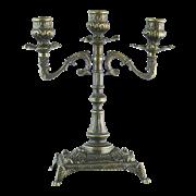 Канделябр Венеция на 3 свечи, под бронзу AL-80-410-ANT