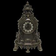 Часы Барокко каминные под бронзу AL-82-103-ANT
