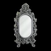 Зеркало настольное Овальное, под бронзу AL-82-238-ANT