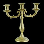 Канделябр на 3 свечи из латуни AL-80-338