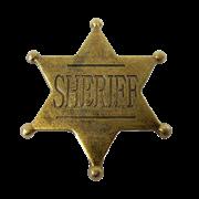 Значок шерифа DE-106