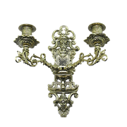 Подсвечник настенный на 2 свечи AL-82-262