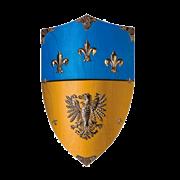 Щит геральдический большой Карла Великого AG-876