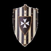 Щит геральдический большой рыцарей Госпитальеров AG-877