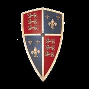"""Щит рыцарский Черного принца """"Эдварда, принца Уэльского, 1330 – 1376"""" AG-806"""